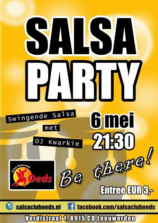 SalsaParty Leeuwarden Salsaclub Oeds