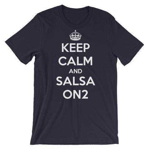 Keep Calm And Salsa On 2 TShirt
