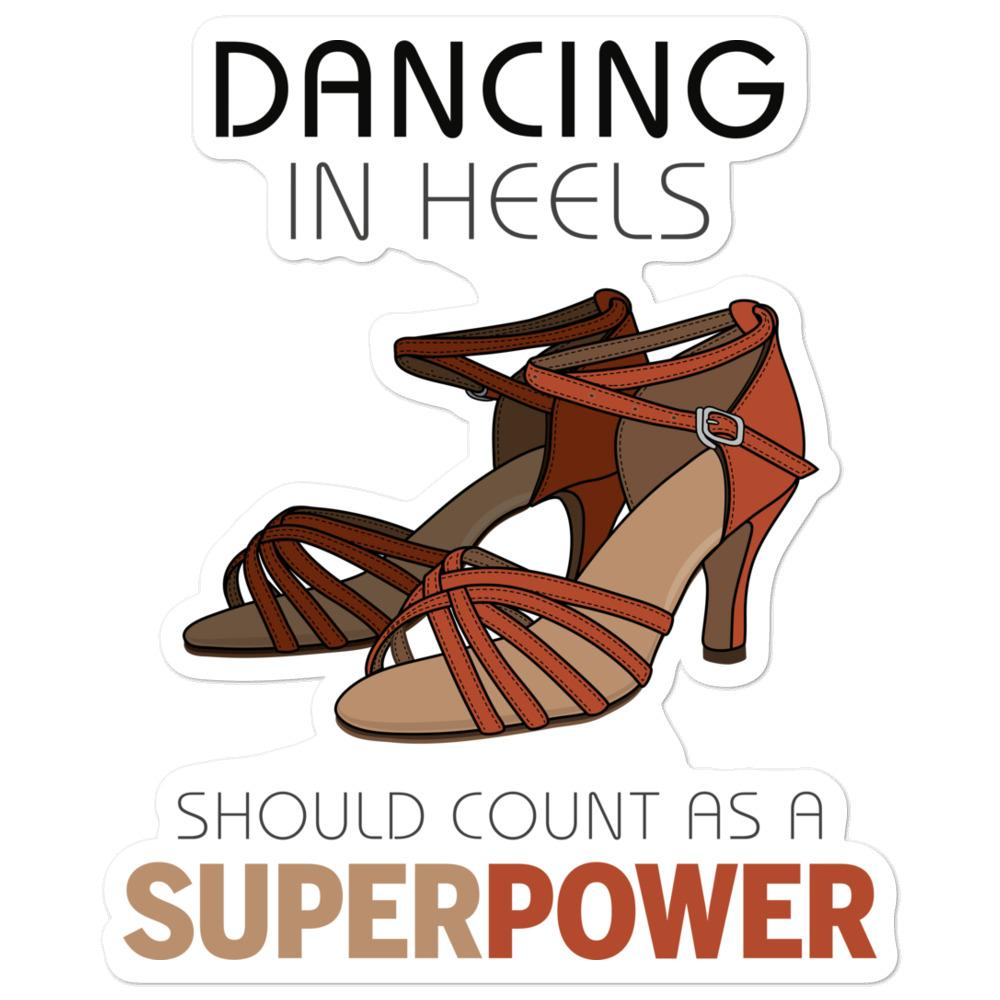 Dancing in Heels Sticker