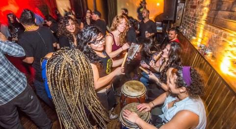 Dancing at La Rumba Buena. Photo: Artur Augustynowicz.