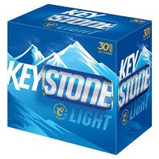coors brewing co keystone light 30 pack 12oz cans