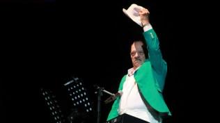 Larry Harlow demostró por qué es uno de los pianistas más bravos de la salsa. (Foto: Diego Toledo / Sóngoro Media)