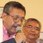 COVID -19: la lucha tenaz del cronista Eloy Jáuregui