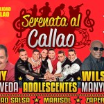 Ray Sepúlveda, Wilson Manyoma y Zaperoko en serenata al Callao