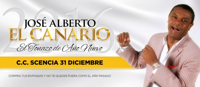 Afiche promocional del concierto de José Alberto El Canario en Scencia de La Molina. (Imagen: Facebook/JosÁlbertoElCanario)