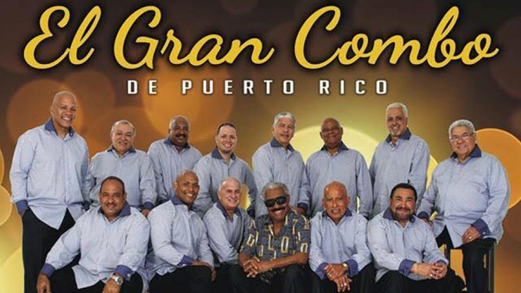 Afiche promocional de El Gran Combo de Puerto Rico. (Imgaen: Facebook/ElGranCombo)