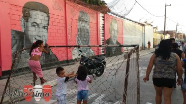 El barrio de Atahualpa es muy popular por sus murales que exhiben a personajes de la salsa como Héctor Lavoe, Cheo Feliciano, Celia Cruz y Raphy Leavitt. (Foto: Salserísimo Perú)