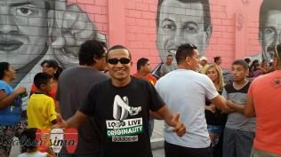 Ex futbolistas del Sport Boys, el equipo del primer puerto peruano, llegaron a disfrutar del show. Uno de ellos fue Kukín Flores. (Foto: Salserísimo Perú)