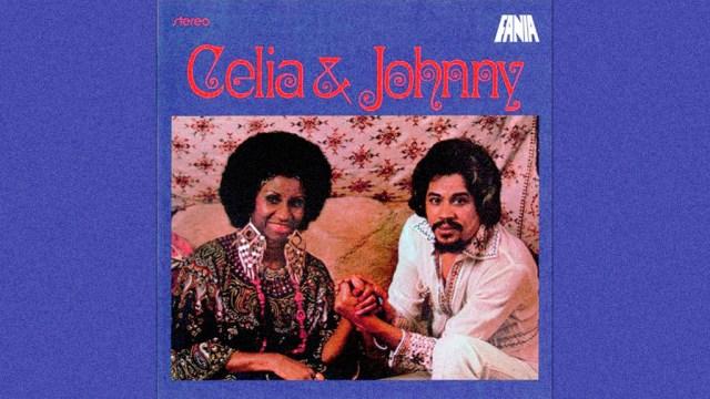 """Cuenta Celia que cuando Masucci le preguntó con quién quería grabar su primer disco para Vaya Records, ella no lo dudó: """"Johnny Pacheco"""". (Foto portada Lp Celia & Johnny)"""