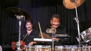 A Rubén Carbajal se le notó feliz desde el inicio hasta el final del show. Algo inolvidable. (Foto: Salserísimo Perú)