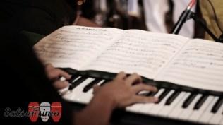 Anacaona, escrito por Tite Curet e interpretada por Cheo Feliciano, es uno de los temas que se tocaron en la noche. (Foto: Salserísimo Perú)