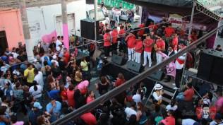 El Combo Espectáculo Creación abrió el show con su tradicional clásico 'Callao: Puerto querido'. (Foto: Salserísimo Perú)