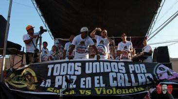 K'llao Salsa, de Yamandú Blaka, abrió el espectáculo pasada las 2 de la tarde. (Foto: Salserísimo Perú)
