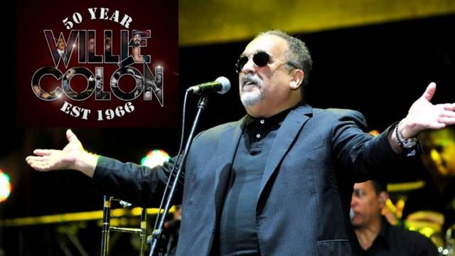 Willie interpretará temas junto a Lavoe, Blades y Fania All Stars. (Foto: Facebook Willie Colón)