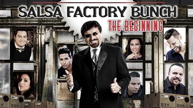 Portada del disco 'The beginning' de Salsa Factory Bunch. (Imagen: Facebook/BobbyCruz)