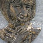 Intentaron robar placa que rinde homenaje a Celia Cruz en el Callao