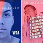 Difunden la portada y los temas del primer disco de César Vega