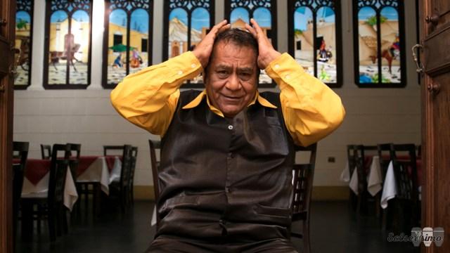 Ramón Avilés estuvo en el centro de Lima y conversó largo y tendido con Salserísimo Perú. (Foto: Antonio Alvarez F./Salserísimo Perú)