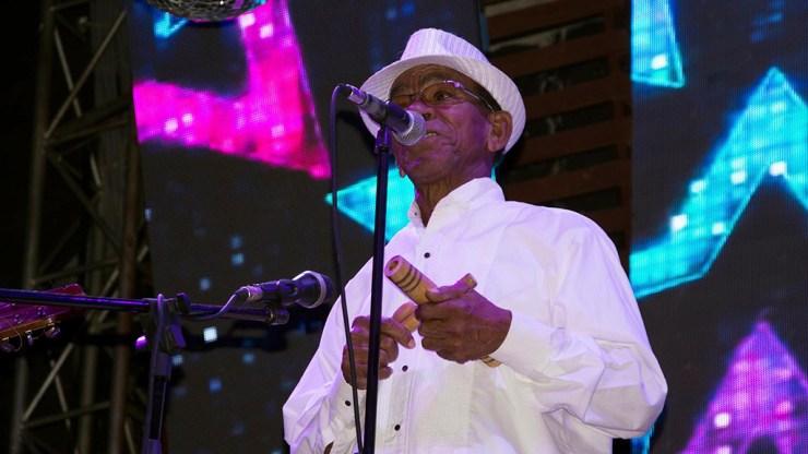 Eugenio Rodríguez, o simplemente 'El Raspa', es el cantante principal de la agrupación cubana desde hace ya varios años. (Foto: Narbo Peralta)