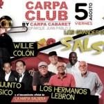 Colombia: Conjunto Clásico, Willie Colón y Hermanos Lebrón tocarán en Medellín