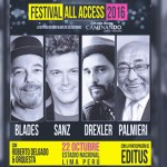 Rubén Blades confirma concierto junto a Eddie Palmieri en el Nacional