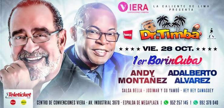 Afiche promocional del evento. (Imagen: Facebook/Dr.Timba)