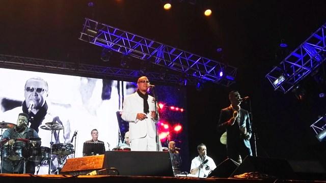 Hermán Olivera en la delantera, junto a Renzo Padilla, fueron claves para el éxito del show. (Foto: Salserísimo Perú)