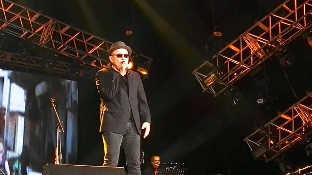 Rubén Blades se despidió del público peruano con la orquesta de Roberto Delgado. (Foto: Salserísimo Perú)