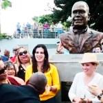 Cheo Feliciano ya tiene su busto en la Plaza de los Salseros de Puerto Rico