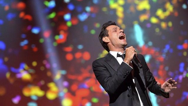 Varios cantantes se juntaron para homenajear a Marc Anthony. (Foto: Facebook/LatinGrammy)