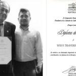 Yolvi Traverso fue reconocido por el Congreso de la República