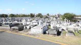 Vista panorámica del cementerio San josé de Villa Palmeras. (Foto: Antonio Alvarez F./Salserísimo Perú)