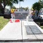 La vez que La Toya Jackson visitó la tumba de Ismael Rivera
