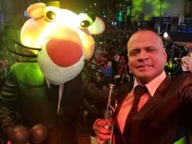 Jhonny Peña y su agrupación hicieron bailar a los asistentes. (Foto: Facebook/Zaperoko)