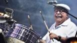 Orestes Vilató tocó el timbal como solo él lo sabe hacer. (Foto: Facebook/IsidroInfanteII)