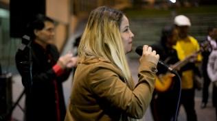 Mia Barreto, hija de 'Mita' interpretando 'Guantanamera'. (Foto: Antonio Alvarez F./Salserísimo Perú)
