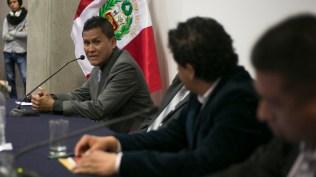 Luisito Carbajal narró su propia experiencia en los medios locales. (Foto: Antonio Alvarez F./Salserísimo Perú)