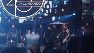 Vico C con su clásico 'Bomba para afincar' puso a bailar al público. (Foto: Antonio Alvarez F./Salserísimo Perú)