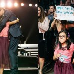 «Mamá, ya no puedo más»: niña que logró bailar con Marc Anthony