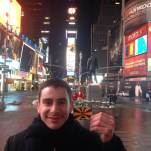 Time Square by Valentin