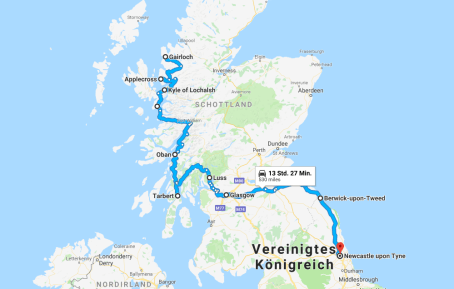 West Coast to Newcastle