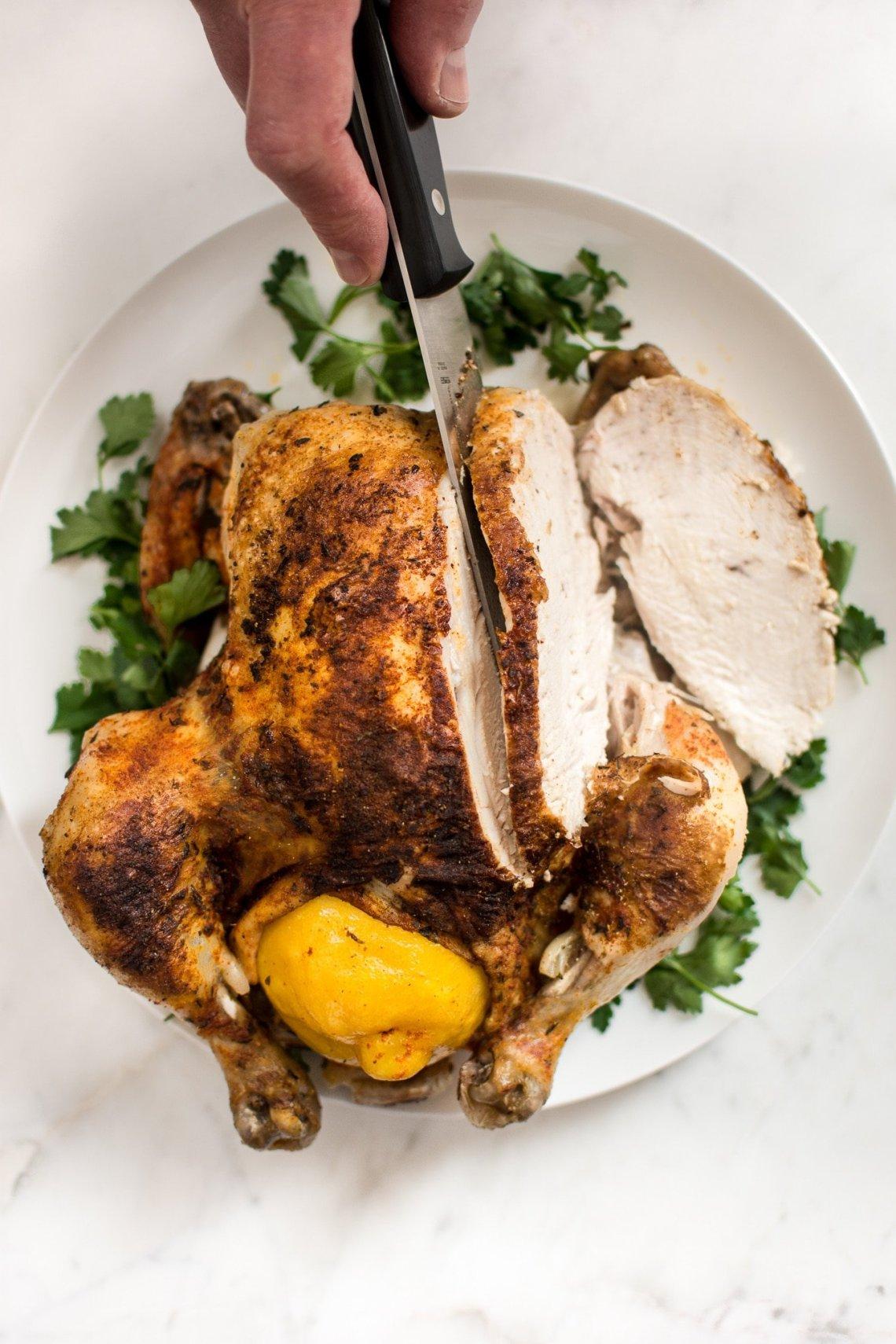 Instant Pot Whole Chicken • Salt & Lavender