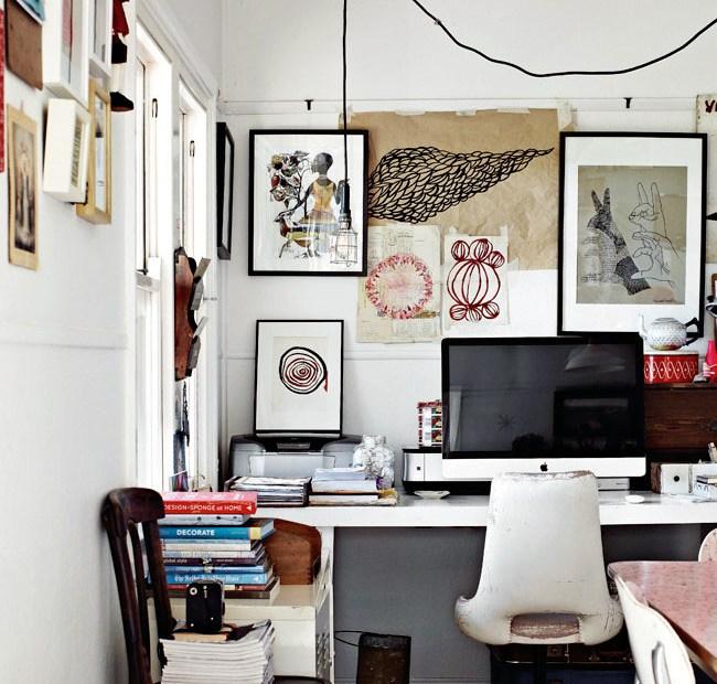 Paula Mills' studio