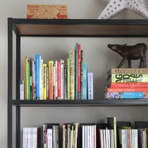 We Made This: Steel Shelving!