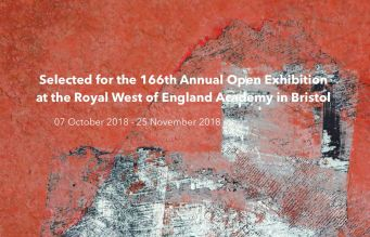 Selected for the 166th Annual Open Exhibition at the Royal West of England Academy in 2018