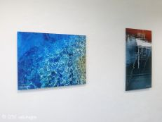 artworks mounted on aluminium