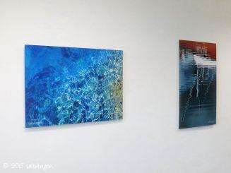 artworks mounted on aluminium