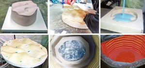 Kiln Glass Casting - Rubber Mould Making Course 2016 @ Burnham Thorpe | United Kingdom