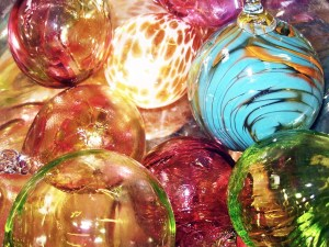 Festive Glass Baubles Courses 2019 @ SALT Glass Studios