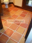Mexican floor tile as saltillo tile